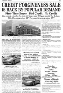NissanOfBowie_JLTR Credit Forgiveness_062515