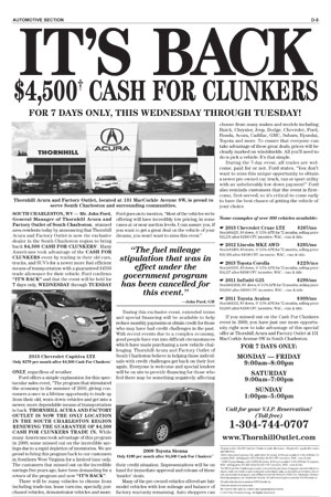Thornhill Acura and Factory Outlet_JTLR Cash for Clunkers_032515