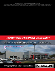 Nissan of Bowie_GC_CustomBreastCancer-C_102315_$85k in Grosses-34 Sold