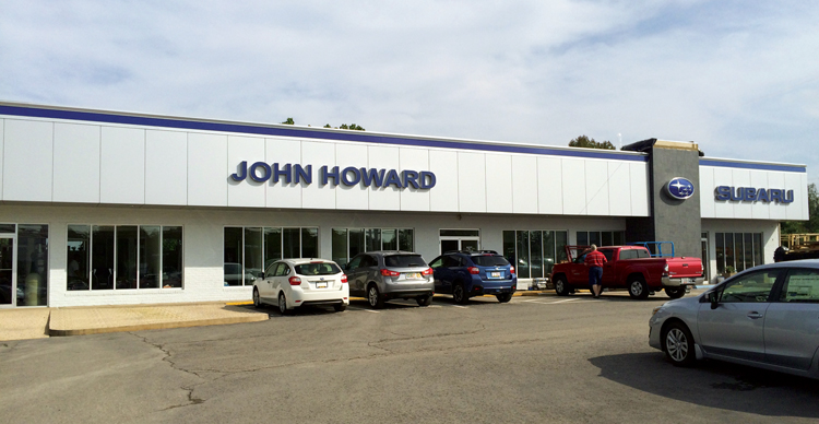 john howard motors tpg auto the premier group