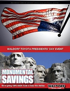 Waldorf Toyota_GC Presidents Day-Flag Back_021116-1