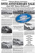 Johnson Motors_Jltr_59th Anniversary_59 Down_Used_101217_70 Sold