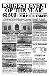 Carlock CDJR of Tuscaloosa_Jltr Cash for Klunker